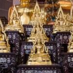 Постер, плакат: Golden Buddha statue names Buddhachinaraj sit on layer respectiv