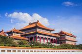 """中国佛教寺院在曼谷的名字""""扫管笏 Mangkon Kamalawat"""" — 图库照片"""