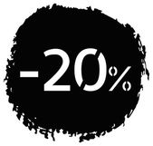 Percentage discount — Stock Vector