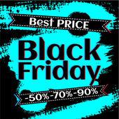 Black Friday poster — Stock Vector