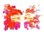 Rorschach inkblot test illustration — Stock Photo