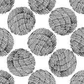 Seamless stylish hand drawn pattern. — Vetor de Stock