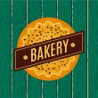 Collection of vintage retro bakery logo — Stock Vector #72991965