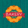 Collection of vintage retro bakery logo — Stock Vector #72992007