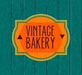 Collection of vintage retro bakery logo — Stock Vector