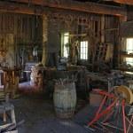 Old Blacksmiths workshop at Pioneer Village. — Stock Photo #54984283