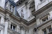 Paris'te binanın mimari parça — Stok fotoğraf
