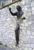 Marcel Ayme monument in Montmartre. — Stock Photo