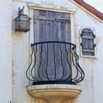 Vintage balcony and window — Stock Photo #74579159
