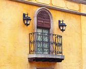 Vintage balcony and window — ストック写真