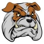 Bulldog mascot character — Stock Vector #77382906