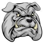 Bulldog mascot character — Stock Vector #77443852