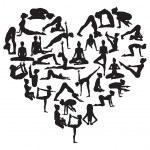 Постер, плакат: Yoga heart