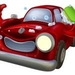Cartoon car wash — Stock Vector #78400878