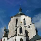 Zelena hora nära zdar nad sazavou, tjeckien — Stockfoto