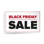 Black Friday sales label — Vecteur