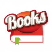 Books sign vector — Vecteur