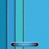 Streszczenie tło z warstwy niebieski papier. — Vettoriale Stock