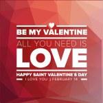 Happy Valentines Day — Stock Vector #63669173