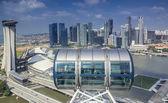 Landschaft von Singapur — Stockfoto