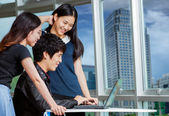 Young business people team — Stock Photo