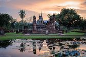 Sukhothai historical park — Stock Photo