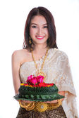 Loy Kratong Festival — Stock Photo