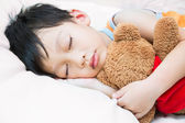 Asia child sleeping — Stock Photo