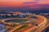 Nonthaburi bridge in Bangkok  — Foto Stock