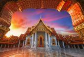O templo de mármore, — Fotografia Stock