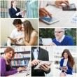 People using digital tablets — Stock Photo #54310867