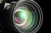 Photographic lens — Stock Photo
