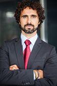 Hombre de negocios guapo — Foto de Stock