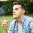 Man smoking cigarette — Stock Photo #55477497