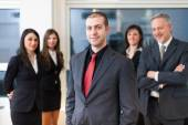 Group of smiling business people — Foto Stock