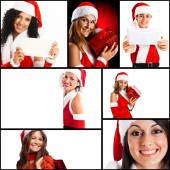 Christmas girls — Foto Stock