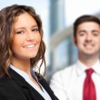 Business partners in an urban setting — Stock Photo #59864687