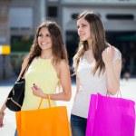 Women doing shopping — Stock Photo #59864755