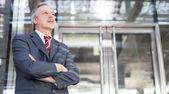 Empresário maduro — Foto Stock