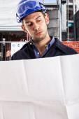 Engineer at work — Stock Photo