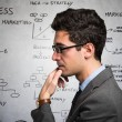Businessman trying to concentrate himself — Stock Photo #64570767