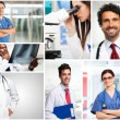 Young doctors at work — Stock Photo #65081007