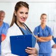 Doctor and medical workers — Stock Photo #65669663