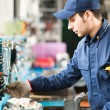 Worker searching for right tool — Stock Photo #67629677