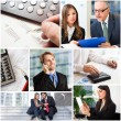 Business people at work — Stock Photo #70777093