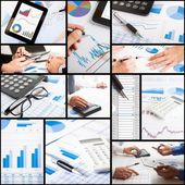 Financial and accounting related images — Stock Photo