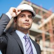 Young architect at work — Stock Photo #76738875