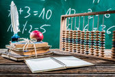 Mathematics classes in primary school — Stock Photo