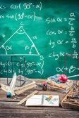 Trigonometry classes in school — Stock Photo