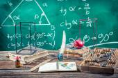 Trigonometry classes in school — Foto de Stock